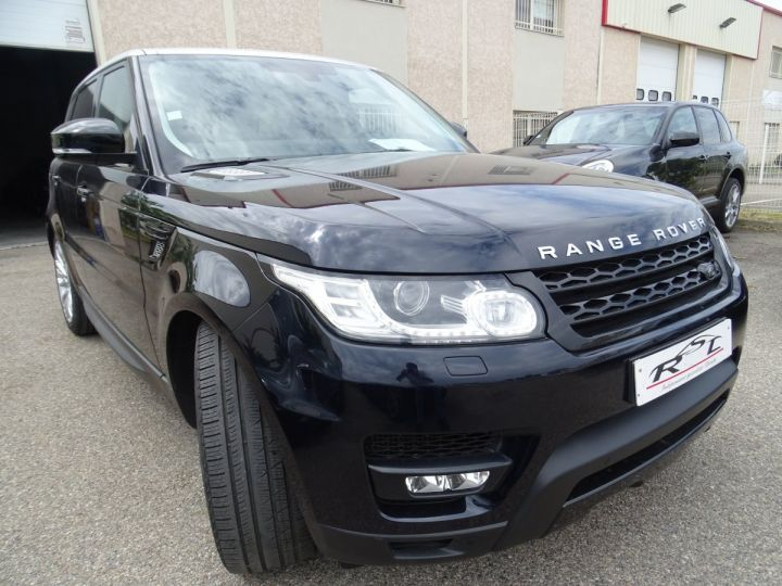Land Rover Range Rover Sport SDV6 HSE DYNAMIC 258PS/JTES 21 TOE PANO  LED 45KM Noir Mariana métallisé - 4