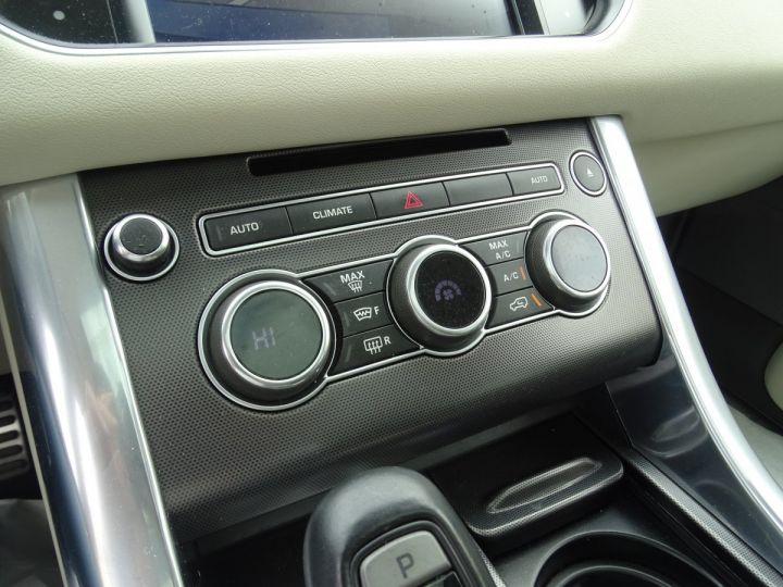 Land Rover Range Rover Sport SDV6 HSE DYNAMIC 258PS/JTES 21 TOE PANO  LED 45KM Noir Mariana métallisé - 10