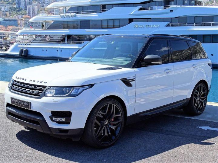 Land Rover Range Rover Sport SDV6 HSE DYNAMIC 306 CV BLACK LINE - MONACO Blanc Fuji White - 1