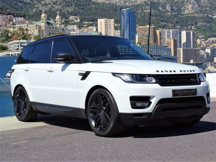 Land Rover Range Rover Sport SDV6 HSE DYNAMIC 306 CV BLACK LINE - MONACO Blanc Fuji White - 2