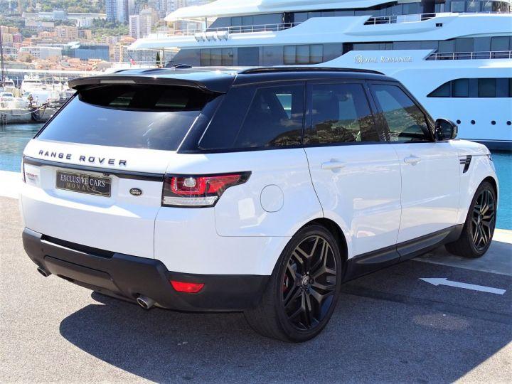 Land Rover Range Rover Sport SDV6 HSE DYNAMIC 306 CV BLACK LINE - MONACO Blanc Fuji White - 3