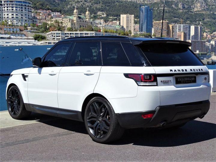 Land Rover Range Rover Sport SDV6 HSE DYNAMIC 306 CV BLACK LINE - MONACO Blanc Fuji White - 4