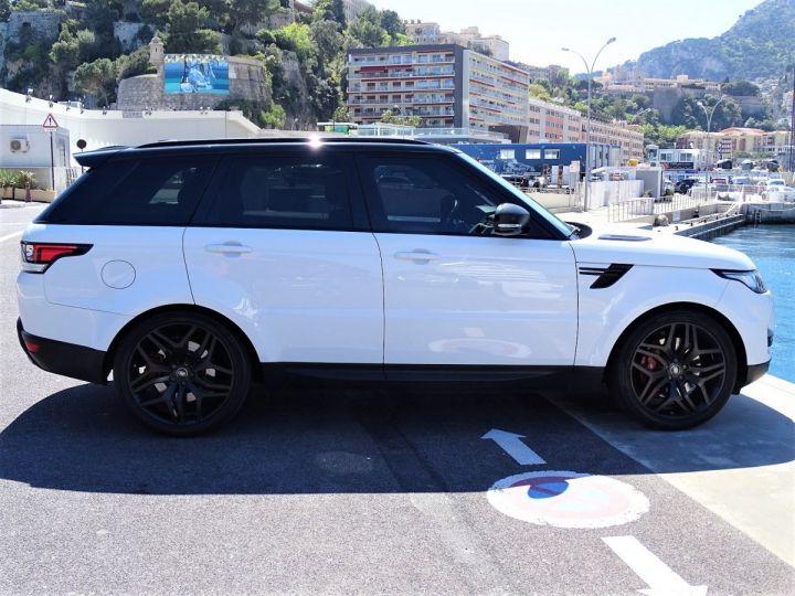 Land Rover Range Rover Sport SDV6 HSE DYNAMIC 306 CV BLACK LINE - MONACO Blanc Fuji White - 5