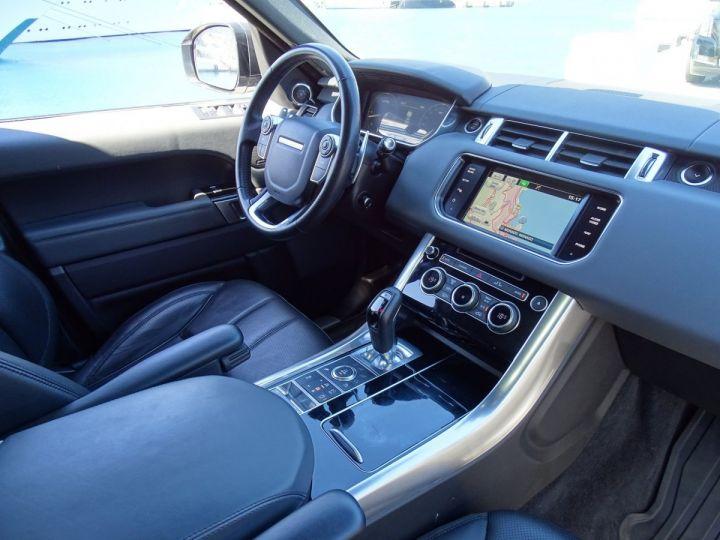 Land Rover Range Rover Sport SDV6 HSE DYNAMIC 306 CV BLACK LINE - MONACO Blanc Fuji White - 8