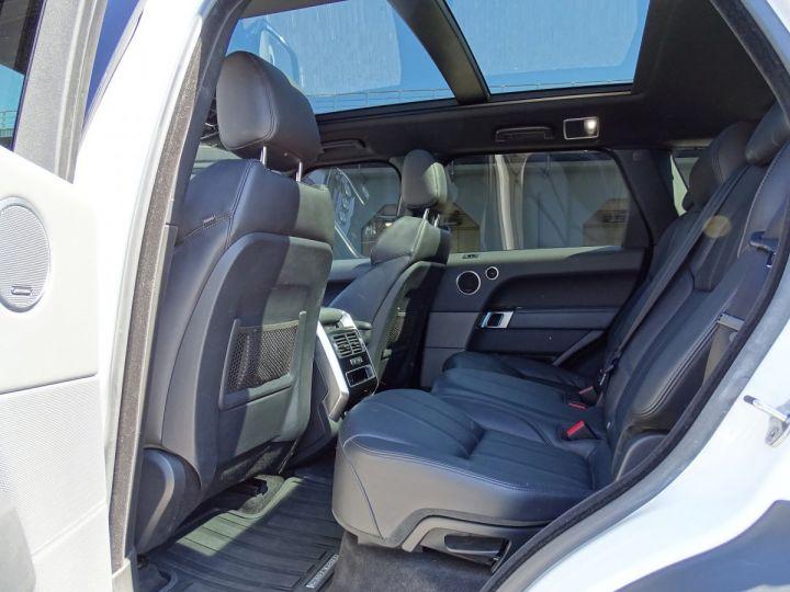 Land Rover Range Rover Sport SDV6 HSE DYNAMIC 306 CV BLACK LINE - MONACO Blanc Fuji White - 9