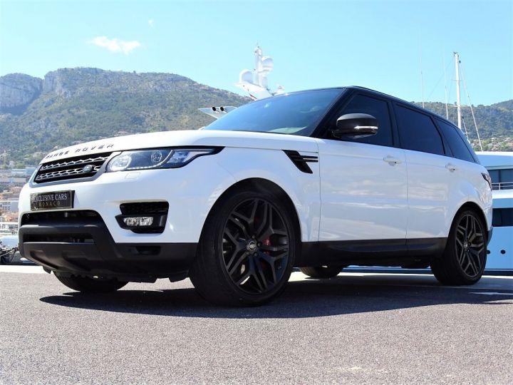Land Rover Range Rover Sport SDV6 HSE DYNAMIC 306 CV BLACK LINE - MONACO Blanc Fuji White - 11