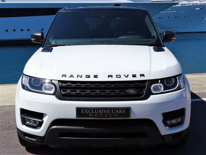 Land Rover Range Rover Sport SDV6 HSE DYNAMIC 306 CV BLACK LINE - MONACO Blanc Fuji White - 12