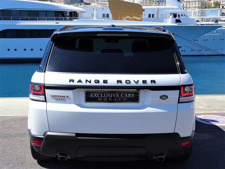 Land Rover Range Rover Sport SDV6 HSE DYNAMIC 306 CV BLACK LINE - MONACO Blanc Fuji White - 14