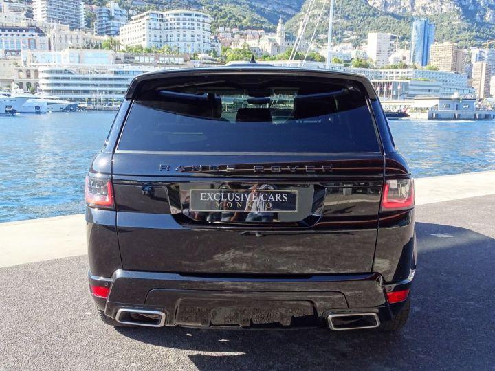 Land Rover Range Rover Sport SUPERCHARGED BLACK EDITION 5.0 V8 HSE DYNAMIC 525 CV - MONACO Noir Métal - 15