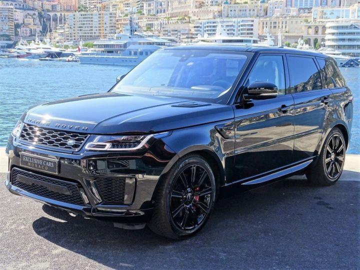 Land Rover Range Rover Sport SUPERCHARGED BLACK EDITION 5.0 V8 HSE DYNAMIC 525 CV - MONACO Noir Métal - 1