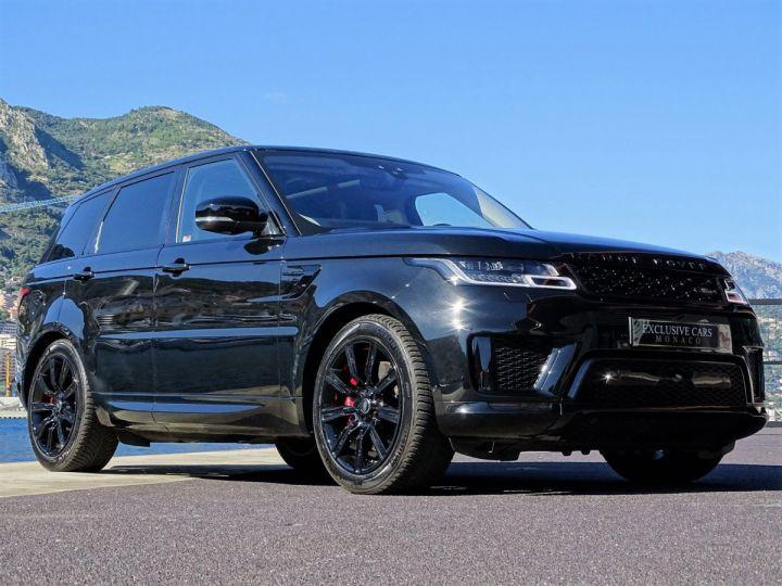 Land Rover Range Rover Sport SUPERCHARGED BLACK EDITION 5.0 V8 HSE DYNAMIC 525 CV - MONACO Noir Métal - 2