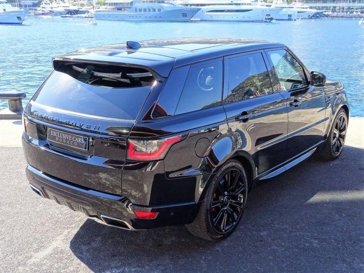 Land Rover Range Rover Sport SUPERCHARGED BLACK EDITION 5.0 V8 HSE DYNAMIC 525 CV - MONACO Noir Métal - 4