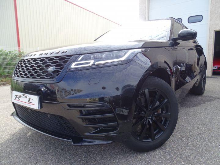 Land Rover Range Rover Velar 2.0 D240 4WD S R-DYNAMIC AUTO/ TOE Pano  jtes 19  Hayon électrique  LED  Bixenon Noir metallisé - 1