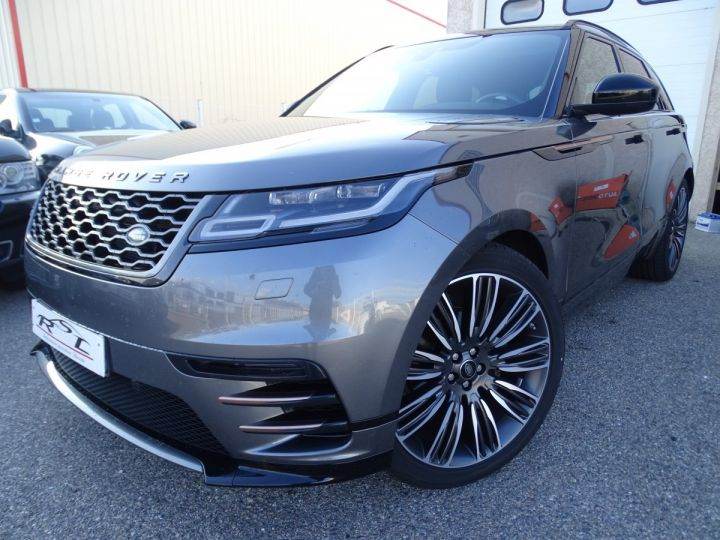 Land Rover Range Rover Velar 2.0D AWD 240PS S R Dynamic Full options VN 87.000E toe pano Camera Jtes 22 LED  gris Corris métallisé - 1