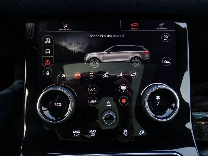 Land Rover Range Rover Velar 2.0D AWD 240PS S R Dynamic Full options VN 87.000E toe pano Camera Jtes 22 LED  gris Corris métallisé - 15