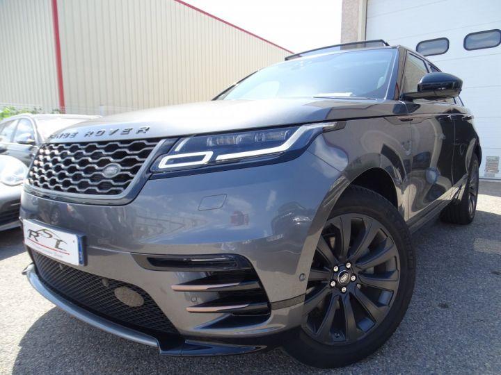 Land Rover Range Rover Velar 240PS BVA S R Dynamic/ TOIT Pano  lecture tete haute  Jtes 20  LED ... gris ammonite met - 1