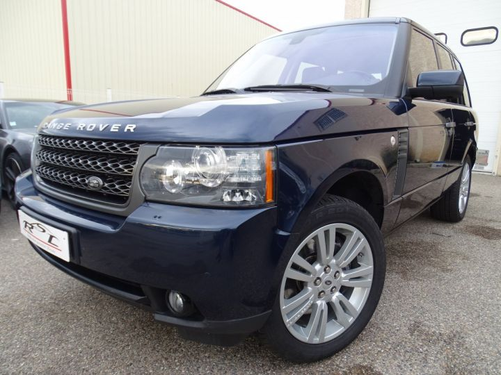 Land Rover Range Rover VOGUE 4.4L 313ps 67km Full options bleu baltique métallisé  - 1
