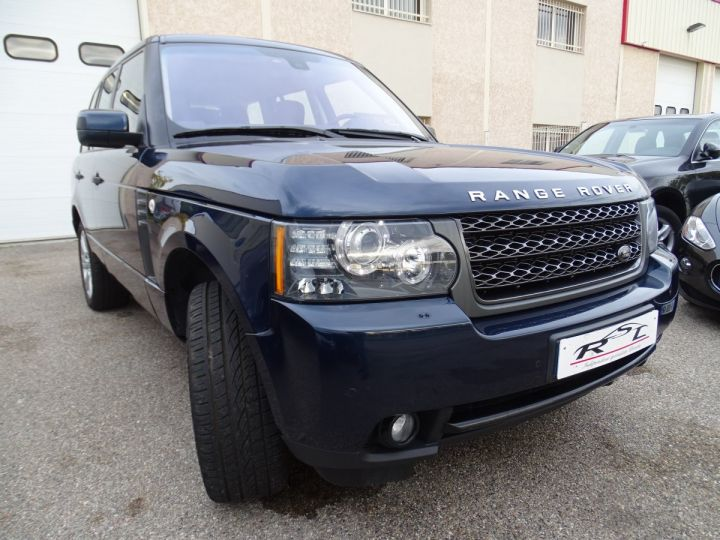 Land Rover Range Rover VOGUE 4.4L 313ps 67km Full options bleu baltique métallisé  - 4