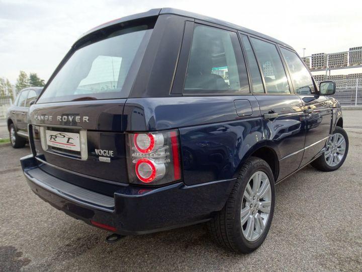 Land Rover Range Rover VOGUE 4.4L 313ps 67km Full options bleu baltique métallisé  - 7
