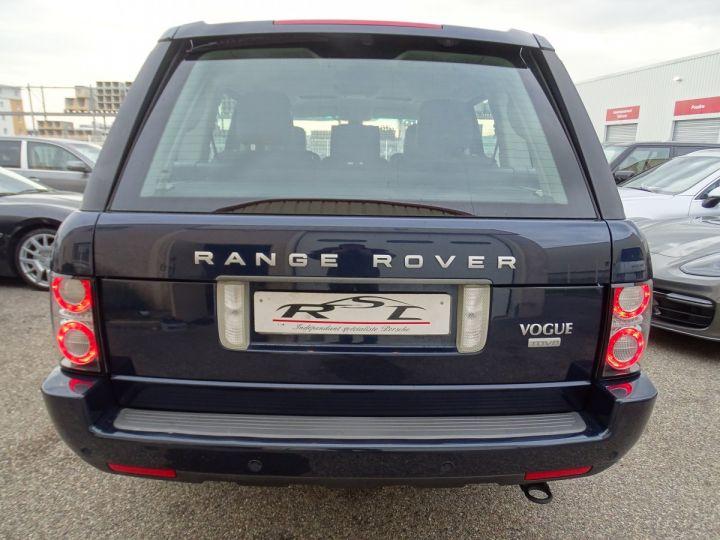 Land Rover Range Rover VOGUE 4.4L 313ps 67km Full options bleu baltique métallisé  - 8