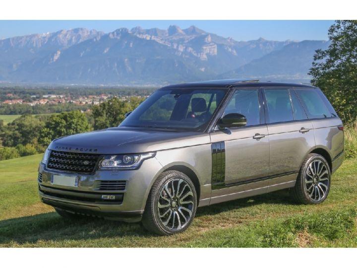 Land Rover Range Rover VOGUE SE 5.0 V8 SUPERCHARGED 510 cv Gris foncé - 1