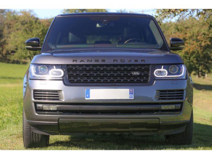 Land Rover Range Rover VOGUE SE 5.0 V8 SUPERCHARGED 510 cv Gris foncé - 3