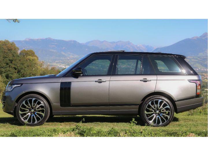 Land Rover Range Rover VOGUE SE 5.0 V8 SUPERCHARGED 510 cv Gris foncé - 4
