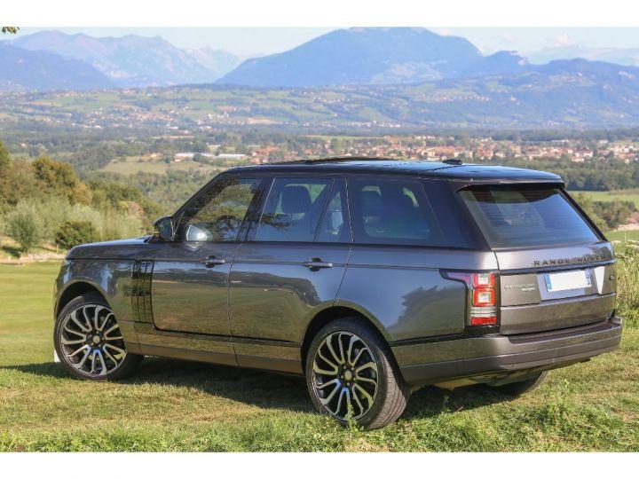 Land Rover Range Rover VOGUE SE 5.0 V8 SUPERCHARGED 510 cv Gris foncé - 5