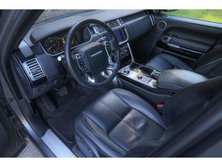 Land Rover Range Rover VOGUE SE 5.0 V8 SUPERCHARGED 510 cv Gris foncé - 8