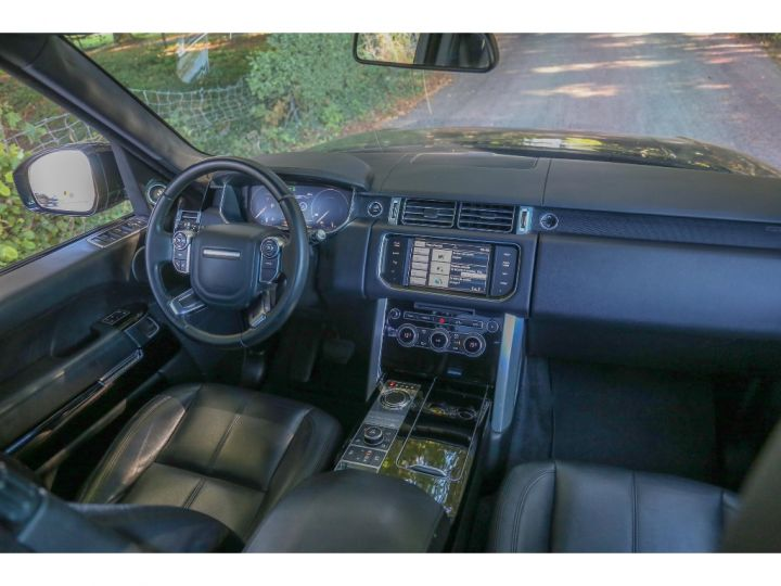Land Rover Range Rover VOGUE SE 5.0 V8 SUPERCHARGED 510 cv Gris foncé - 9