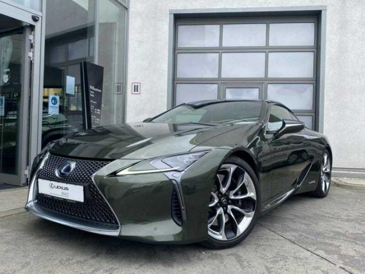 Lexus LC Vert métallisée  - 1