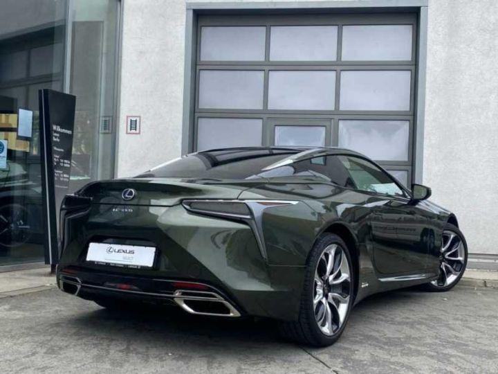 Lexus LC Vert métallisée  - 2