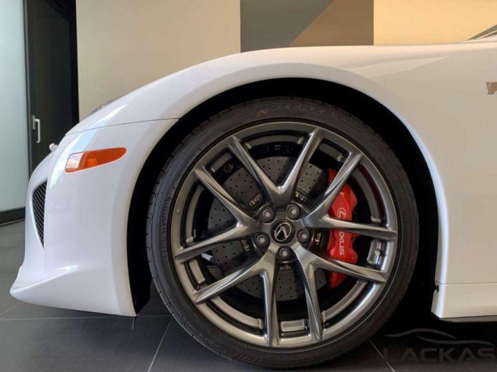 Lexus LFA Lexus LFA COUPE V10 4.7  560 CV Garantie 12 Mois COLLECTOR Blanc - 12