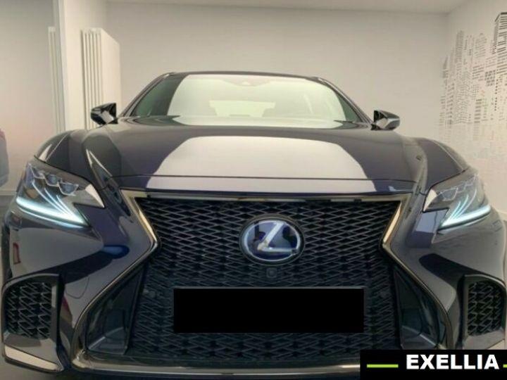 Lexus LS 500h F-Sport  BLEU PEINTURE METALISE Occasion - 1