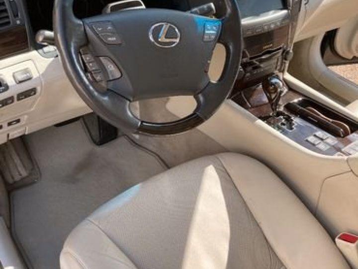 Lexus LS 600H L Pack Président Vert - 4