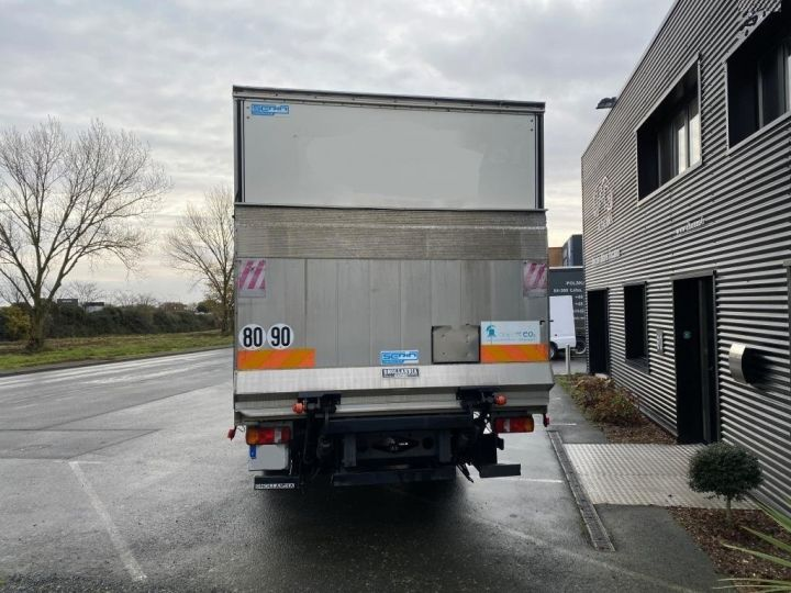 Light van Mercedes Atego Box body + Lifting Tailboard 1218 FOURGON 43 m3 HAYON RABATTABLE PORTE LATERALE COULISSANTE  NOIR - 4