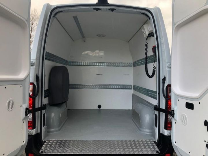 Light van Nissan NV400 Box body + Lifting Tailboard 125 FOURGON 7 PLACES HAYON ELEVATEUR CLIMATISE L3H2 BLANC - 6