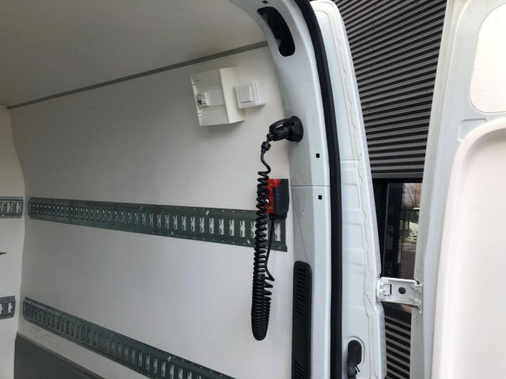 Light van Nissan NV400 Box body + Lifting Tailboard 125 FOURGON 7 PLACES HAYON ELEVATEUR CLIMATISE L3H2 BLANC - 10