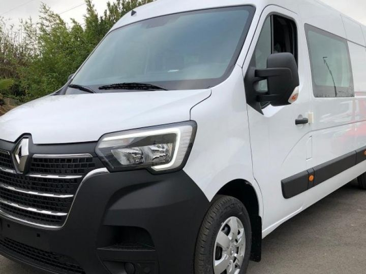 Light van Renault Master Double cab van GRAND CONFORT BLANC - 1