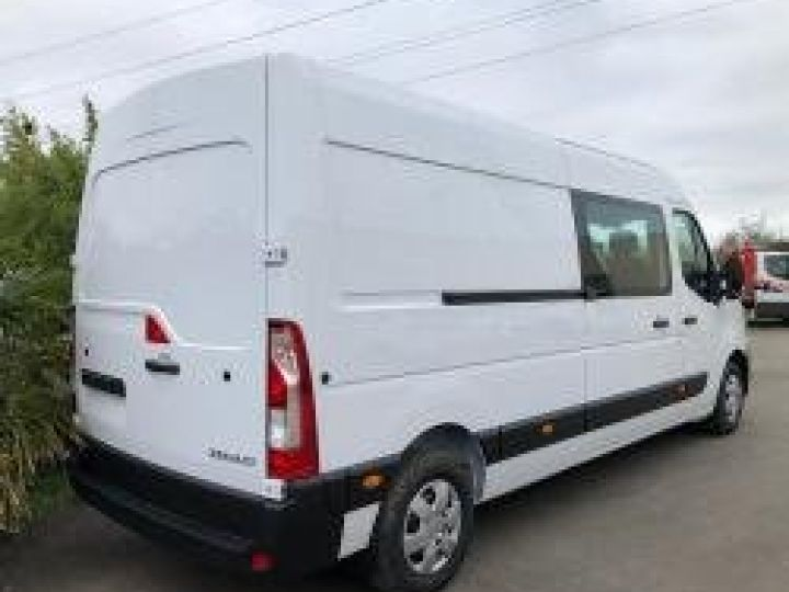 Light van Renault Master Double cab van GRAND CONFORT BLANC - 2