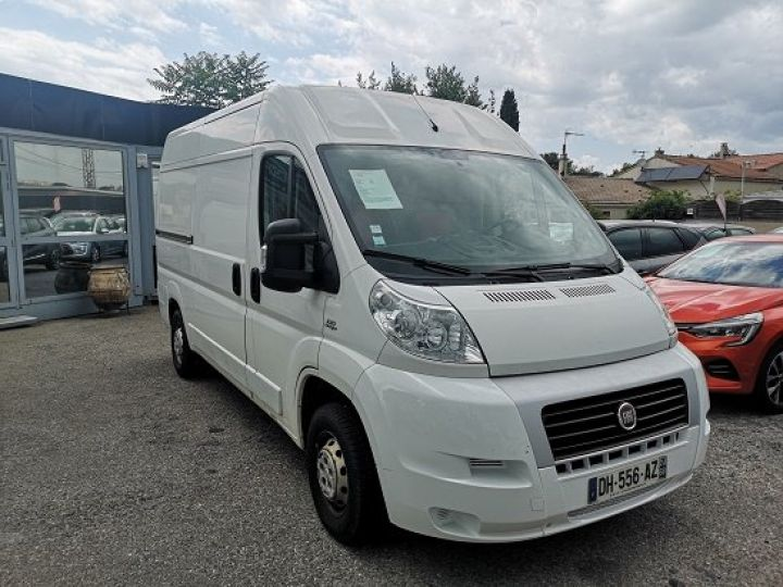 Light van Fiat Ducato BLANC  - 2