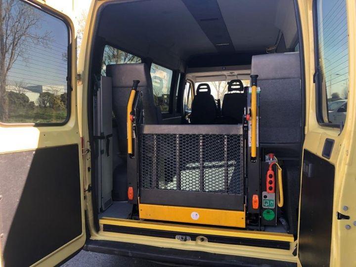 Light van Citroen Jumper Mini-bus TPMR 110 cv JAUNE - 7