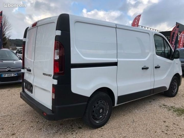 Light van Renault Trafic CONFORT  BLANC  - 3