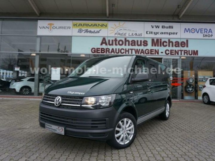 Light van Volkswagen # T6 California # City Camper # vert - 1