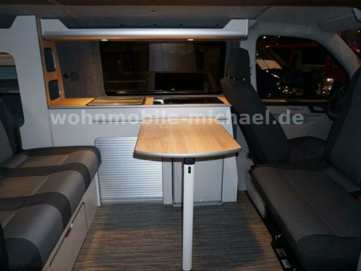 Light van Volkswagen # T6 California # City Camper # vert - 5