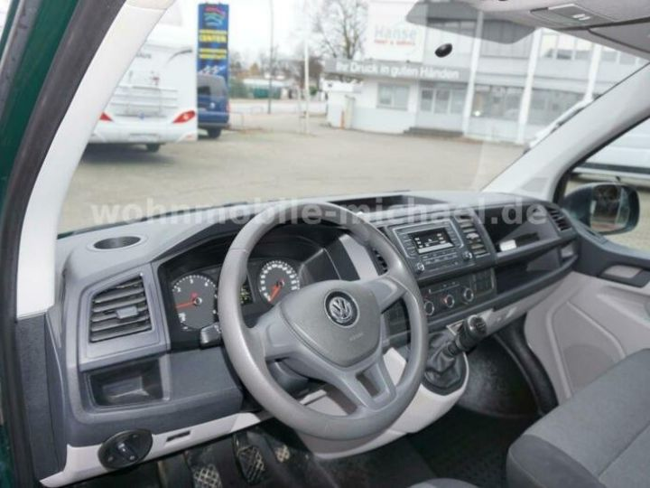 Light van Volkswagen # T6 California # City Camper # vert - 6