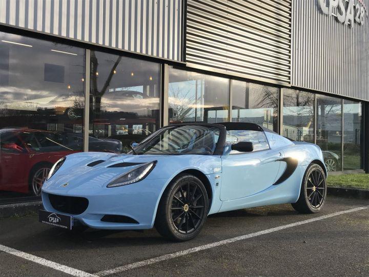 Lotus Elise  MK3 1.6 136 CLUB RACER bleu  - 1