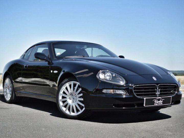 Maserati 4200 GT MASERATI COUPE 4200 GT PHASE 2 4.2 V8 390ch CAMBIOCORSA FAIBLE KILOMÉTRAGE noir - 1