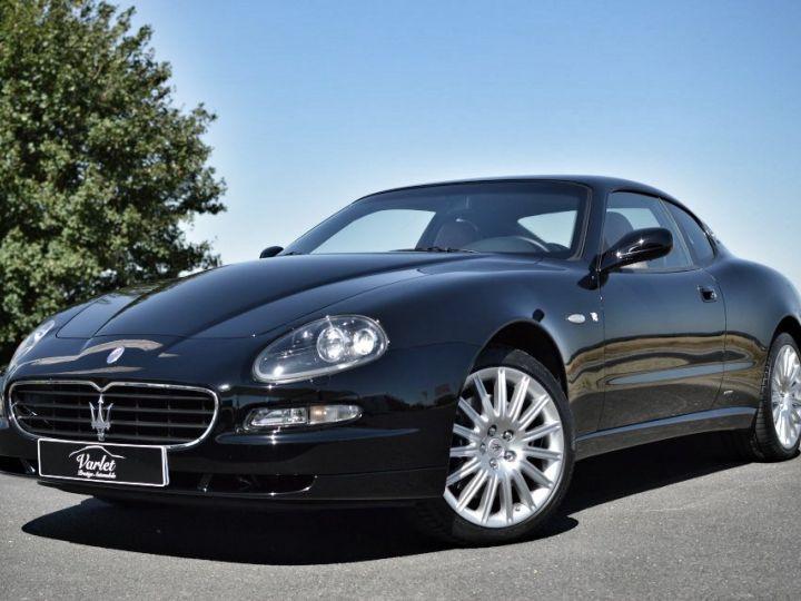 Maserati 4200 GT MASERATI COUPE 4200 GT PHASE 2 4.2 V8 390ch CAMBIOCORSA FAIBLE KILOMÉTRAGE noir - 3