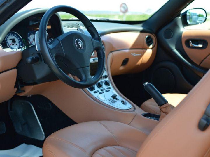 Maserati 4200 GT MASERATI COUPE 4200 GT PHASE 2 4.2 V8 390ch CAMBIOCORSA FAIBLE KILOMÉTRAGE noir - 7